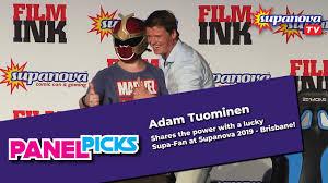 Adam Tuominen shares the power with a lucky Supa-Fan - Supanova TV Panel  Picks - YouTube