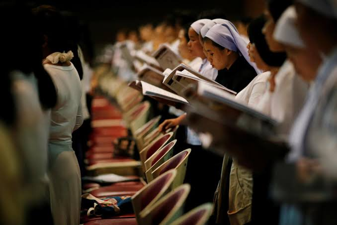 """Image result for Small in numbers, Thai Catholics preserve centuries-old traditions"""""""