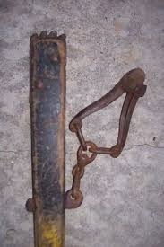 Vintage Townsend Fence Stretcher Puller Usa Barn Farm Ranch Tool Wood Handle 400095734