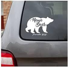 Amazon Com His Child Mama Bear Decal Car Decal Christian Decal Proverbs 31 28 Automotive