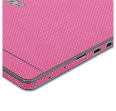Skinomi Techskin Acer Aspire Switch 10 Pink Carbon Fiber Skin Protector