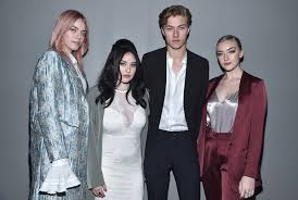 Lucky Blue Smith, Pyper America Smith, Daisy Smith - Pyper America Smith  Photos - H&M Studio : Front Row - Paris Fashion Week - Zimbio