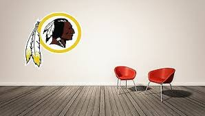 Washington Redskins Nfl Football Wall Decal Vinyl Decor Room Car Sticker Art J62