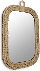 fp 3488 nautical rope wall mirror
