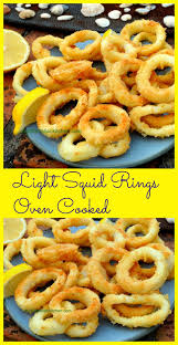 Squid Rings (calamari) in the oven ...