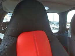 for smart fortwo leatherette car seat