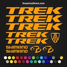 Trek Vinyl Replacement Decal Sticker Sets