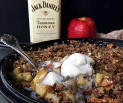 tennessee honey whiskey apple crisp