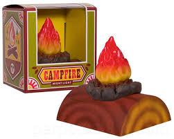 Campfire Night Light Perpetual Kid