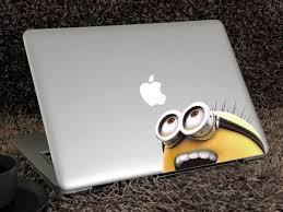 Despicable Me Minion Macbook Decal Shopmarcos Com