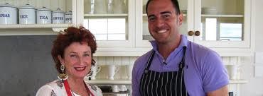 Aaron Carotta - Cooking with Peta Mathias (Kiwi Celebrity ...