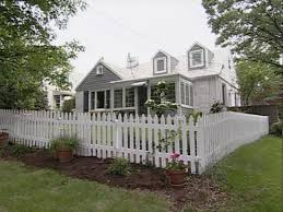 Cape Cod White Fence Restoration White Picket Fence White Fence Outdoor Decor
