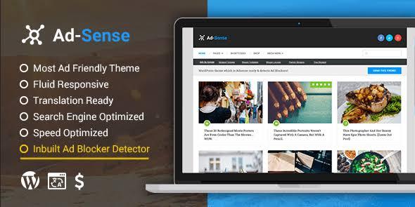 MyThemeShop Ad-Sense WordPress Theme