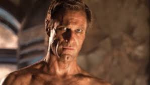 Check out beefy Aaron Eckhart as the muscled monster in I ...
