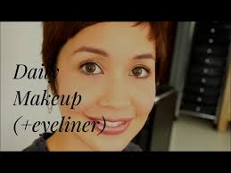 my new daily makeup video you might