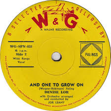 45cat - Denise Lor - If I Give My Heart To You / And One To Grow ...