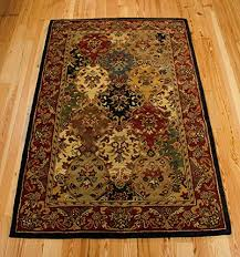house multicolor rectangle area rug