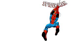white spider man hd cartoon ic