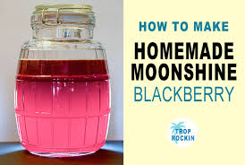 homemade moonshine recipe without a