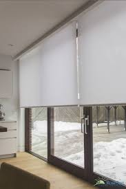 sliding door blinds curtains
