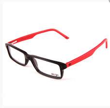 sfx optical frames sfx red and black