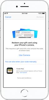 redeem your app top up card in