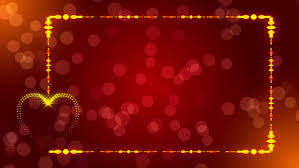 wedding background red abstract