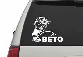 Trump Says No To Beto Nike Kaepernick Sticker Car Decal Etsy