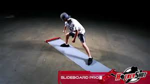 hockey slide board pro by hockeyshot