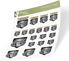 Amazon Com Purdue University Fort Wayne Mastodons Ncaa Sticker Vinyl Decal Laptop Water Bottle Car Scrapbook Type 1 1 Sheet Arts Crafts Sewing