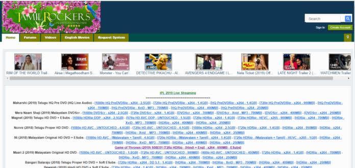 tamilrockers new link