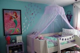 The Little Mermaid Themed Girl S Room Girls Bedroom Themes Little Mermaid Bedroom Themed Kids Room