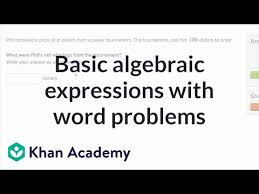 writing basic expressions word problems