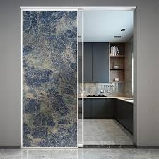 Marble Static Cling Kitchen Window Film Glass Sticker Custom Size Stained Privacy Window Decal Office Sliding Door Home Decorati Decorative Films Aliexpress