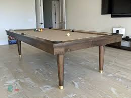 placing a pool table on a rug dk