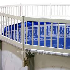 24 Round Vinyl Works Premium Resin Fence Kit