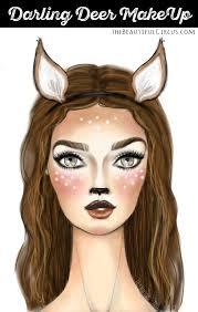 darling deer make up the