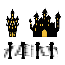 Cemetery Gate Vector Art Graphics Freevector Com