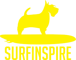 Surf Dog Window Decal Surfinspire