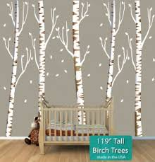 Tree Decals For Nursery Walls Large Tree Wall Decals For Blank Walls 100 00 And Above