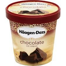 haagen dazs ice cream chocolate ron