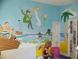 Peter Pan Bedroom Richard Hackett Mural Design