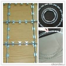 Security Fencing Razor Barbed Wire Fence With Factory Price Real Time Quotes Last Sale Prices Okorder Com