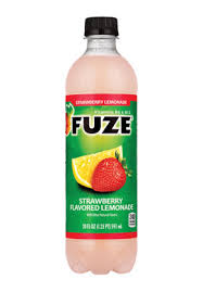 fuze strawberry flavored lemonade