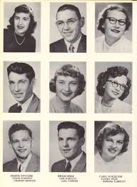 1952 Horicon High School Yearbook and Students Page 10