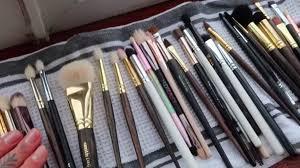 makeup brush cleaning hack