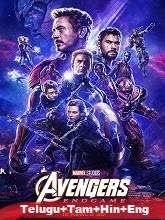 Avengers: Endgame (2019) BluRay [Telugu + Tamil + Hindi + Eng] Dubbed Full Movie Watch Online Free