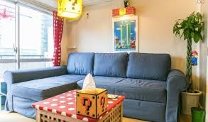 super mario themed airbnb in tokyo is