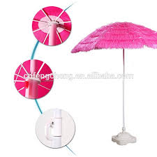 6ft outsunny portable pink tiki thatch