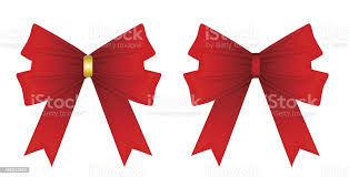 Red Ribbon Tied In A Bow Isolated On White Stock Illustration Download Image Now Istock